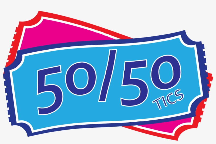50/50 Draw Clipart.