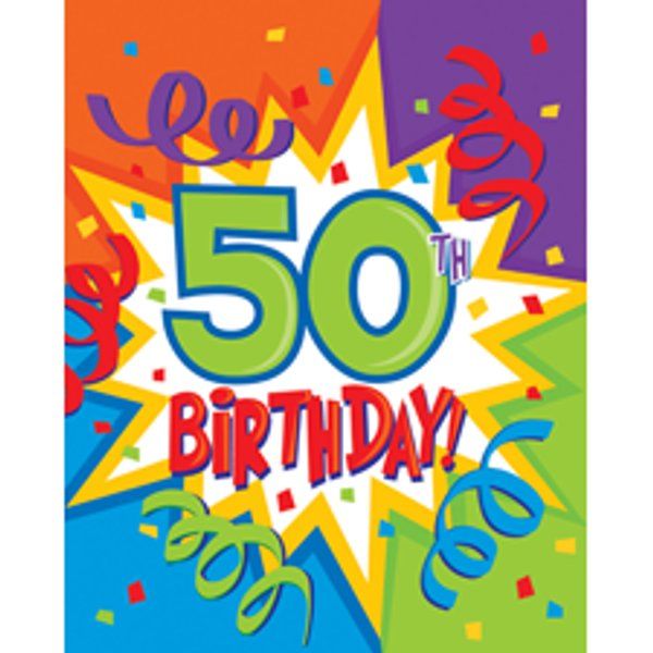 46+ Free Happy 50th Birthday Clip Art.