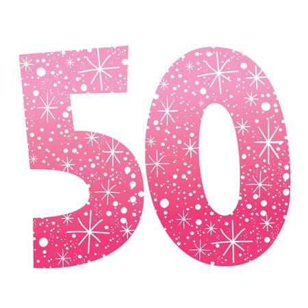 Number 50 Stock Vector Illustration And Royalty Free Number 50 Clipart.