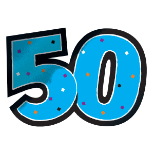 Clip Art Turning 50 Clipart.
