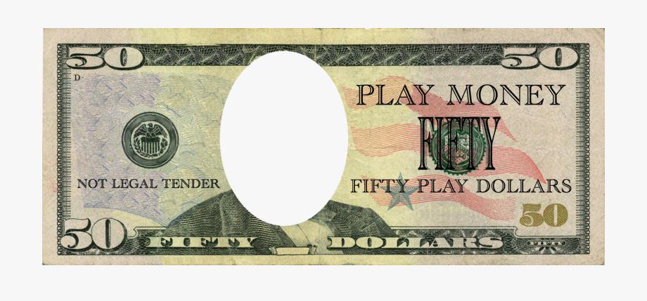 Clip Art 50 Dollar Bill Clipart.