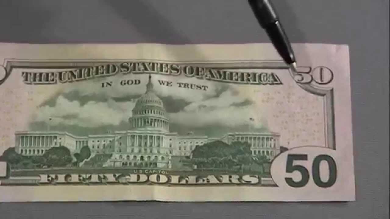 8 Ways to Spot a Fake New 50 Dollar Bill.