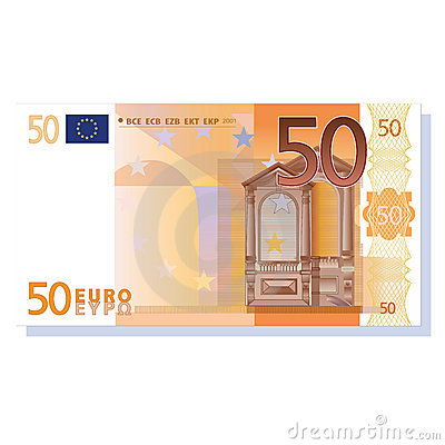 Euro Stock Illustrations.