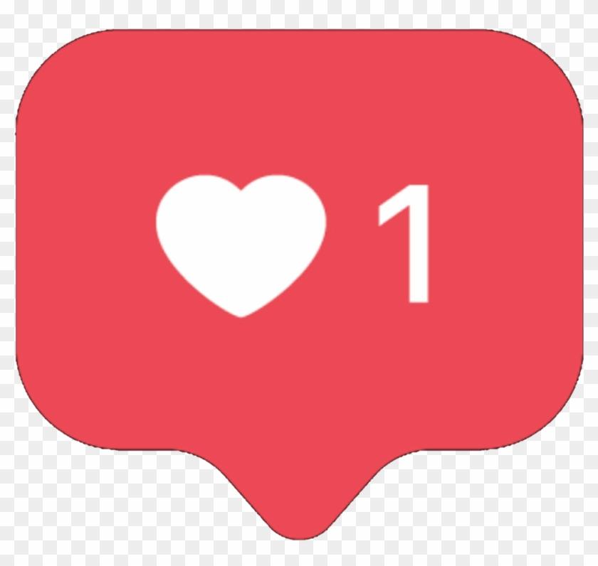 Like Instagram Heart Free Png.