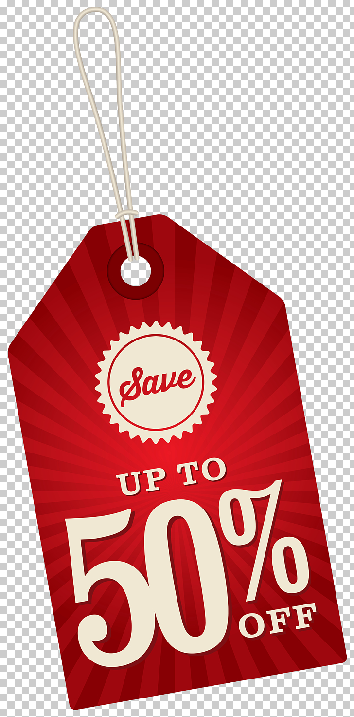 Sales , Save Up To 50% Off Label , red product tag PNG.