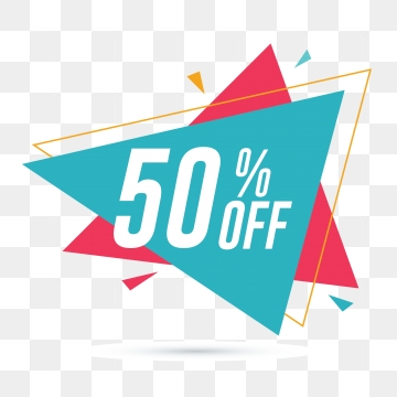 50 Off PNG Images.