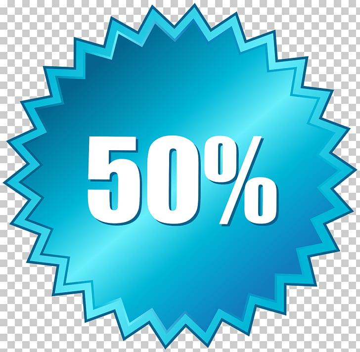50 Off Sale Label , 50% logo PNG clipart.