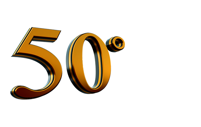 50 Anni Png 4 Vector, Clipart, PSD.
