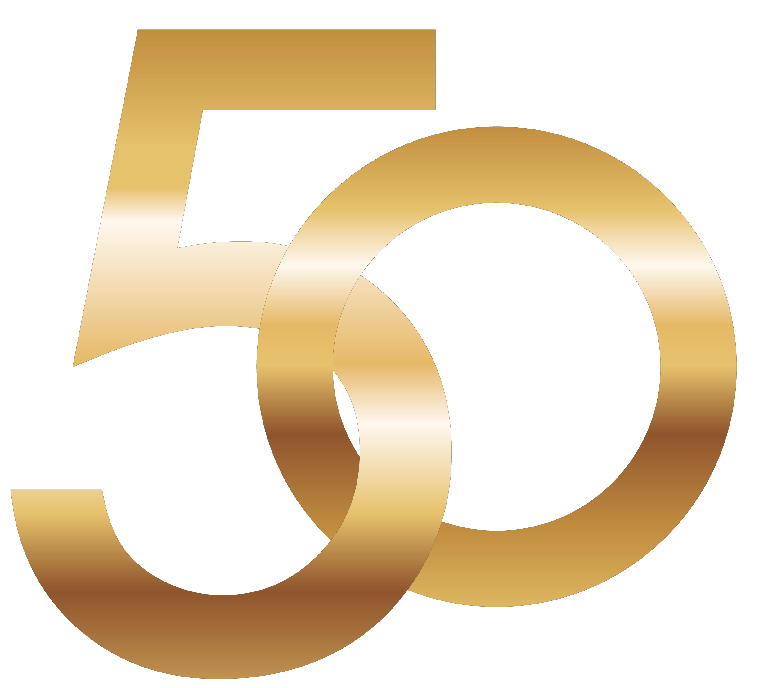 50 Number PNG Image.