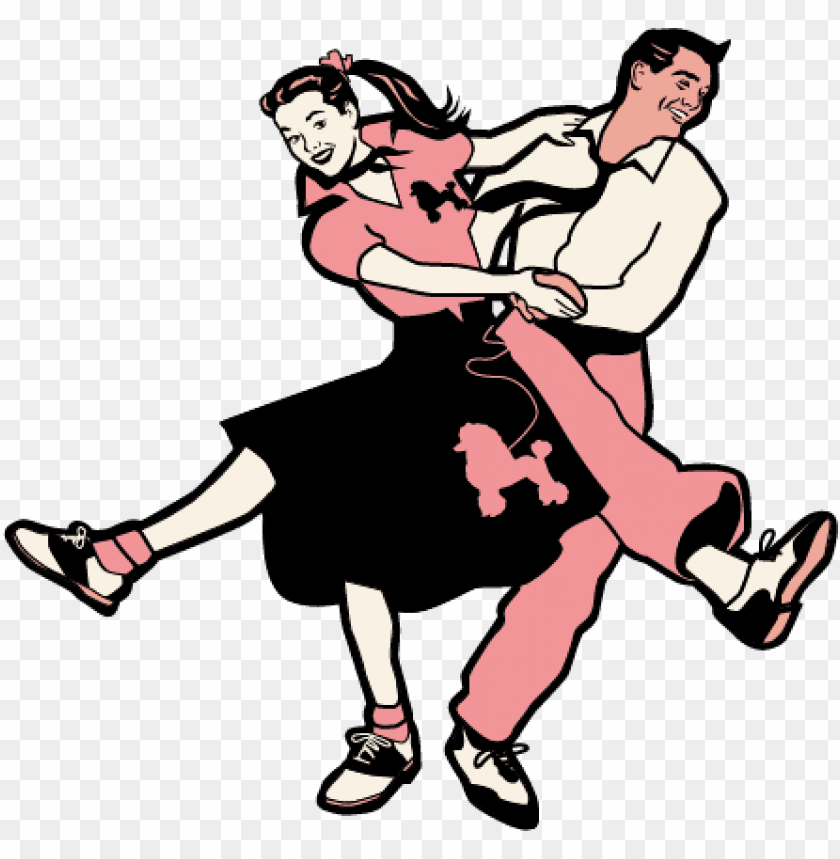 dance clipart sock hop.