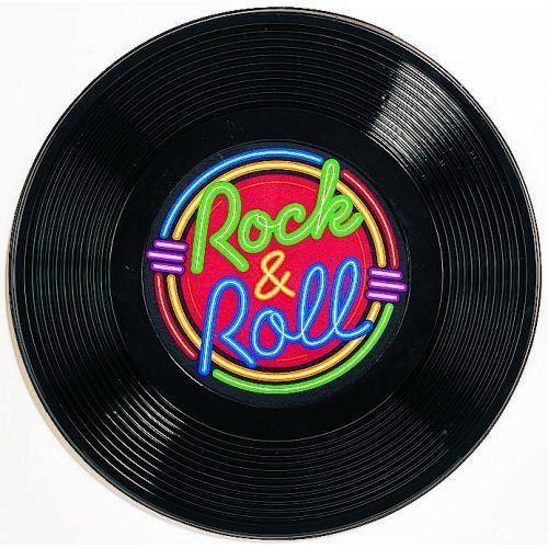 Rock & Roll Record decor in 2019.