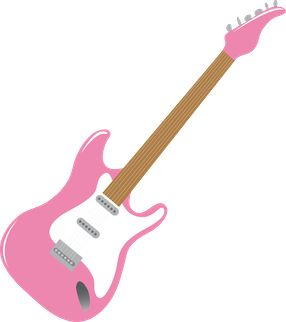 50s clipart electric guitar, 50s electric guitar Transparent.