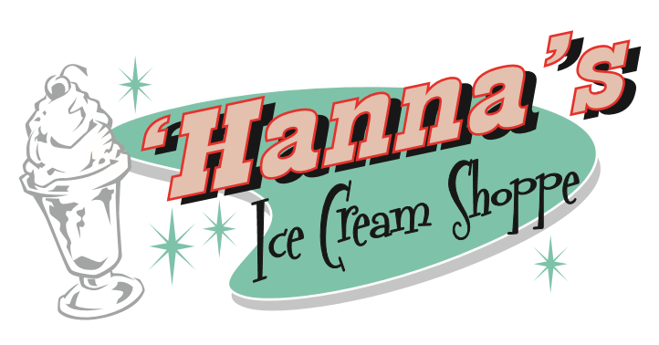 Hanna\'s Ice Cream Shoppe.