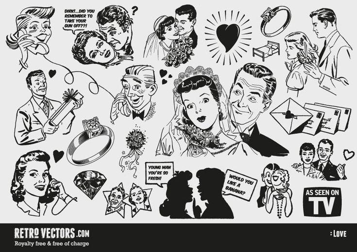 retrovectors 50s.