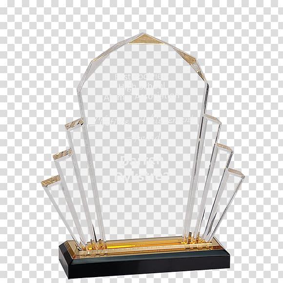 Acrylic trophy Award Commemorative plaque Poly, Trophy.