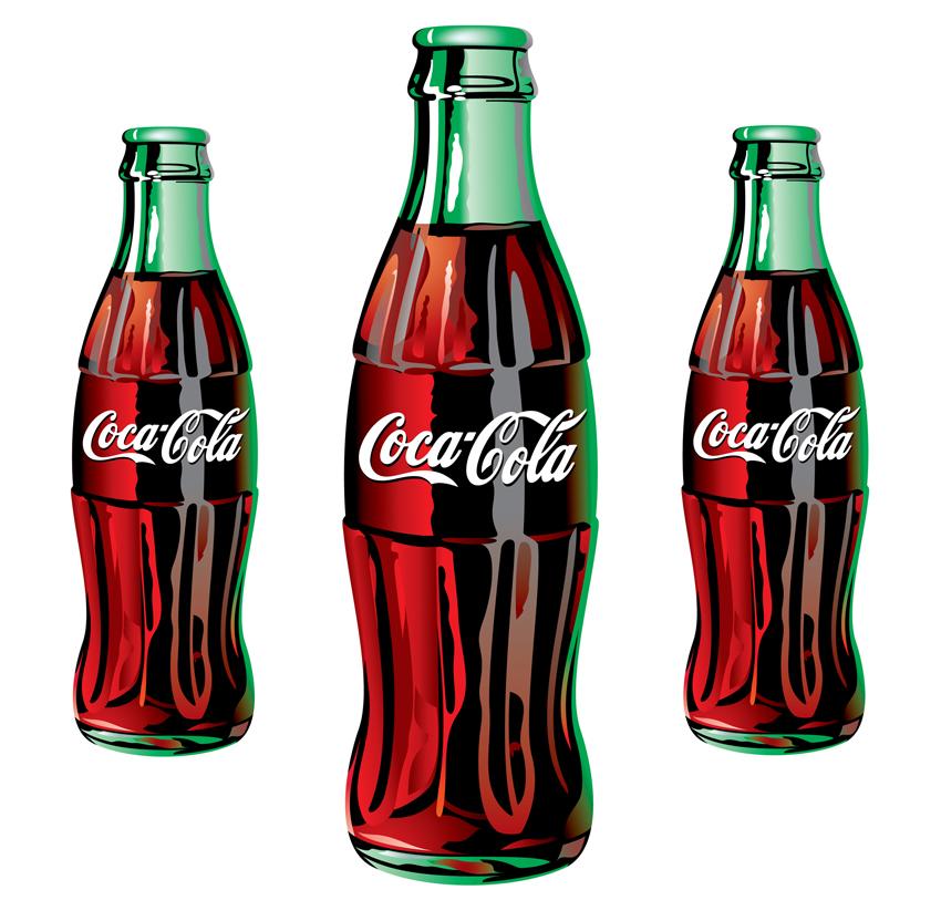 Coca Cola Bottle Clipart.