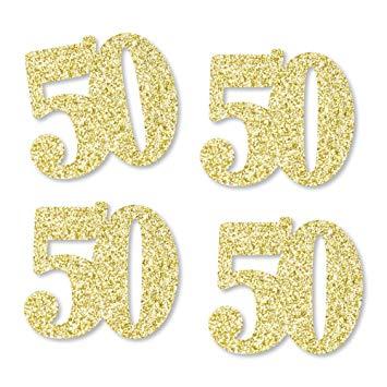 Gold Glitter 50.