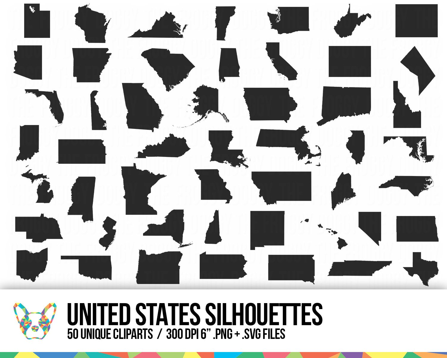 United States Clipart Collection.
