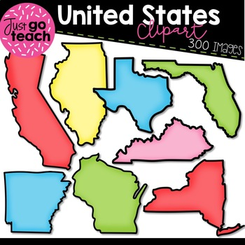 United States {Clipart}.