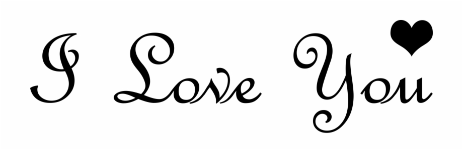 Love You Background Png, Transparent Png (505997 ).