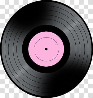 Black vinyl record, Phonograph record Microphone, Vinyl.