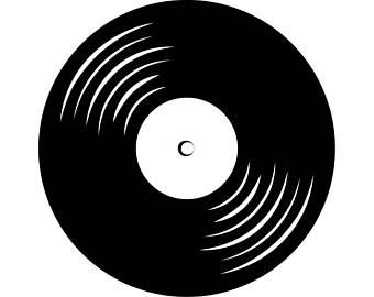 Record Album Clipart.