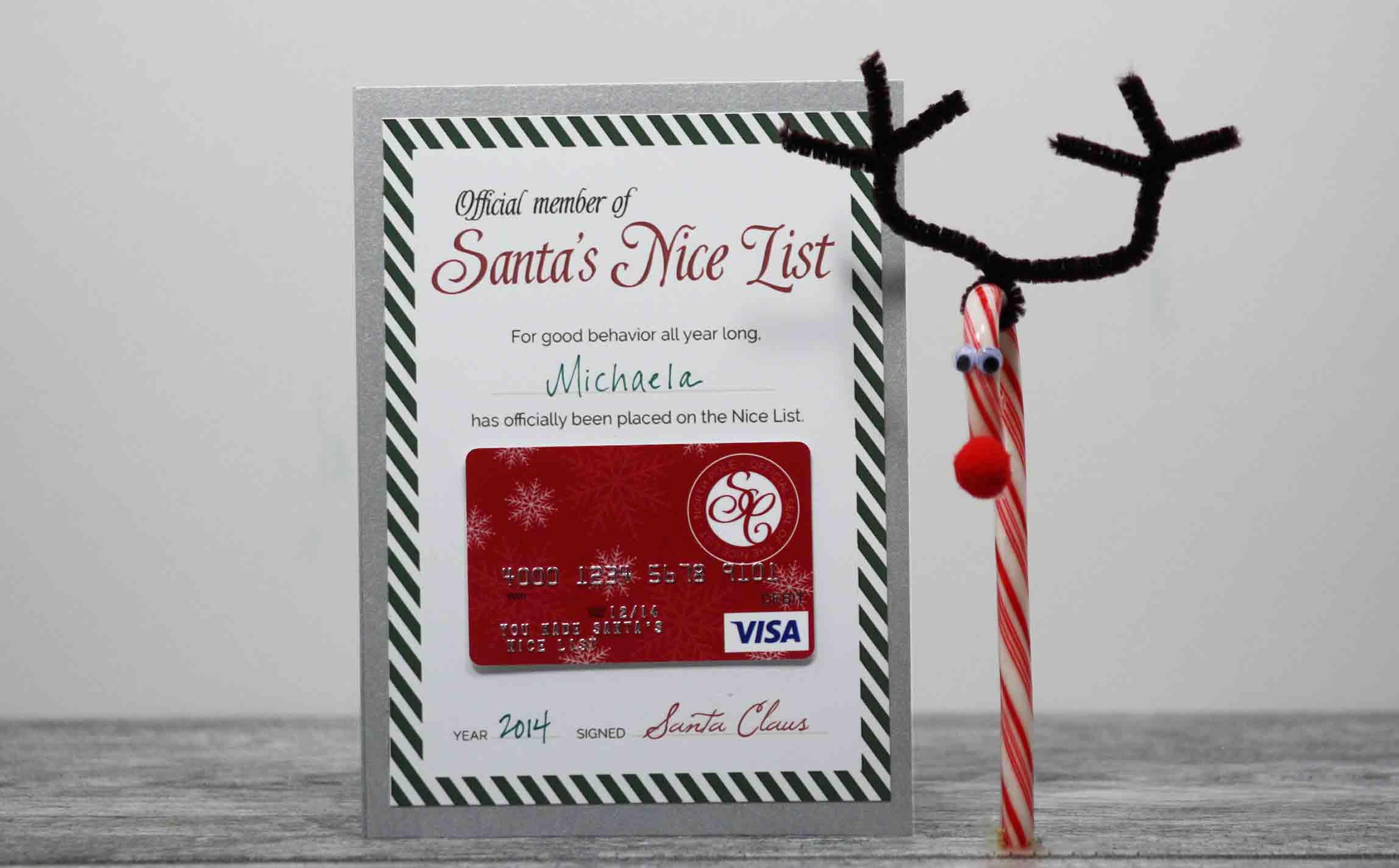Visa Gift Card Clipart.
