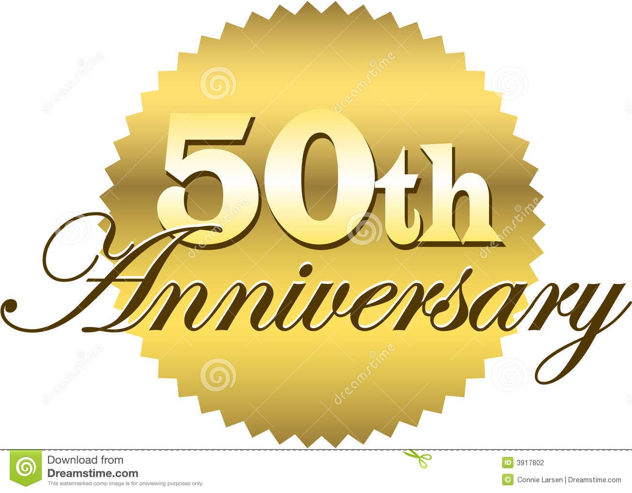 50th wedding anniversary logo ideas Inspirational Golden.
