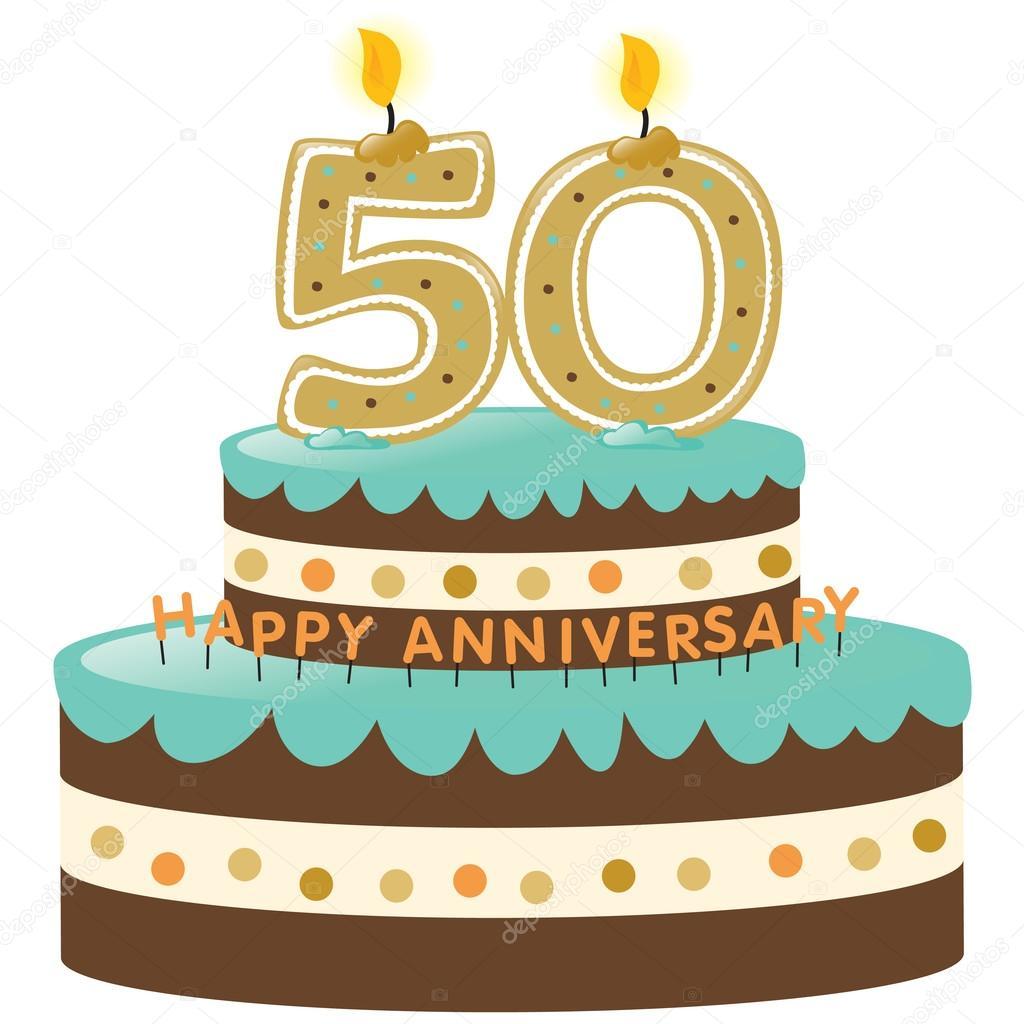 50Th Anniversary Clip Art.