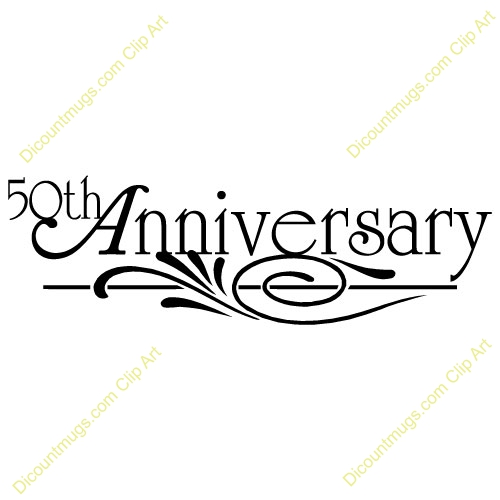 50 Years Anniversary Clipart#2231465.