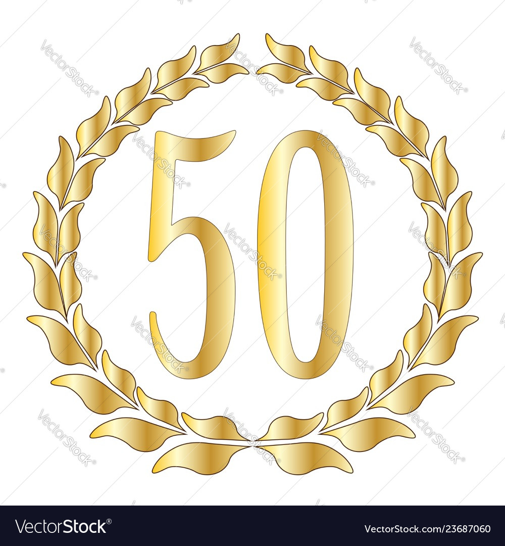 50th anniversary.