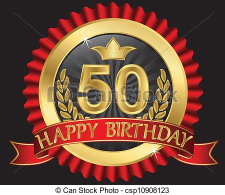 Clipart 50 anni.