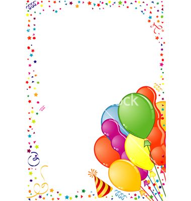 50th Birthday Clip Art Borders.