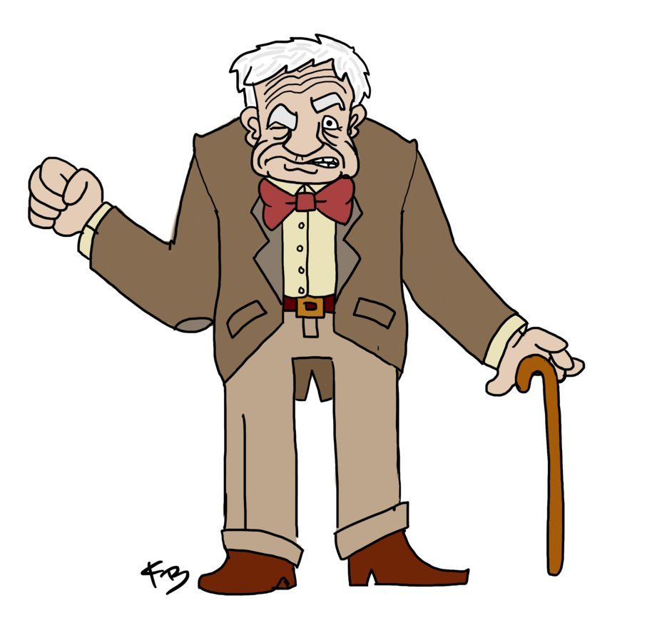 Old Man Clipart Png.