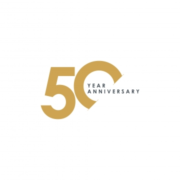 50 Years Anniversary Png, Vector, PSD, and Clipart With Transparent.