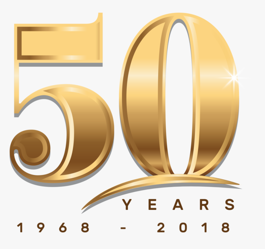 Transparent 50 Year Anniversary Clipart.