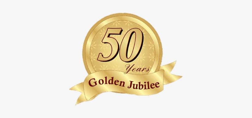 Golden Jubilee Badge Png.