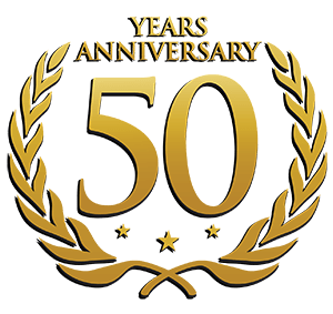 50 Years Anniversary transparent PNG.