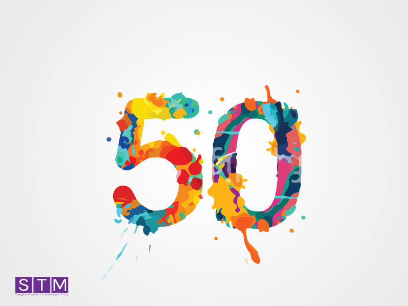 STM(50 years logo) by Basit A khan on Dribbble.