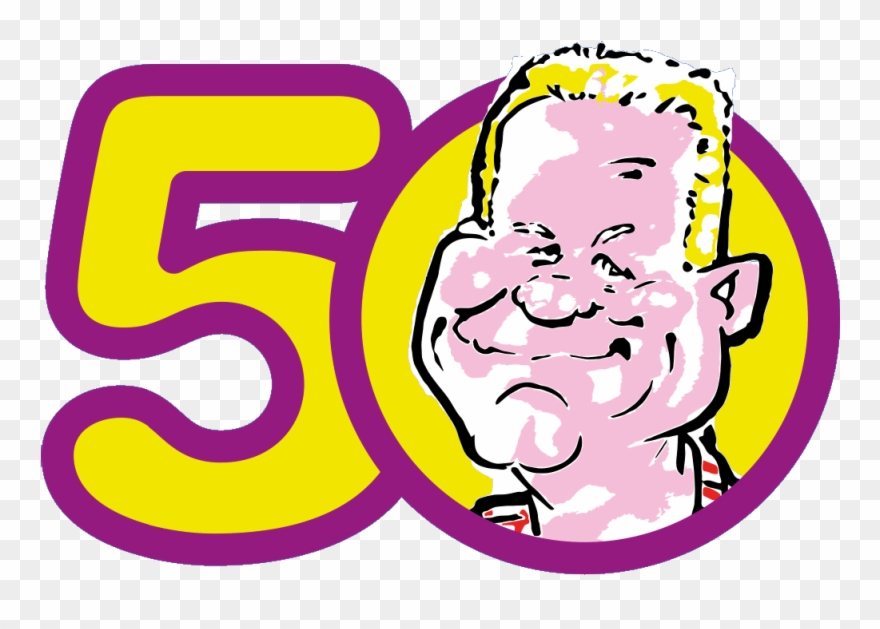 Danny Will Be 50 Years Old Soon And Of Course We Will Clipart.