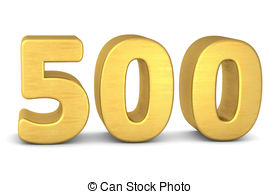 Number 500 Clipart.