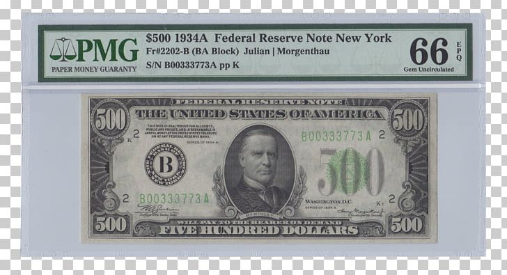 Federal Reserve Note United States Dollar United States One.