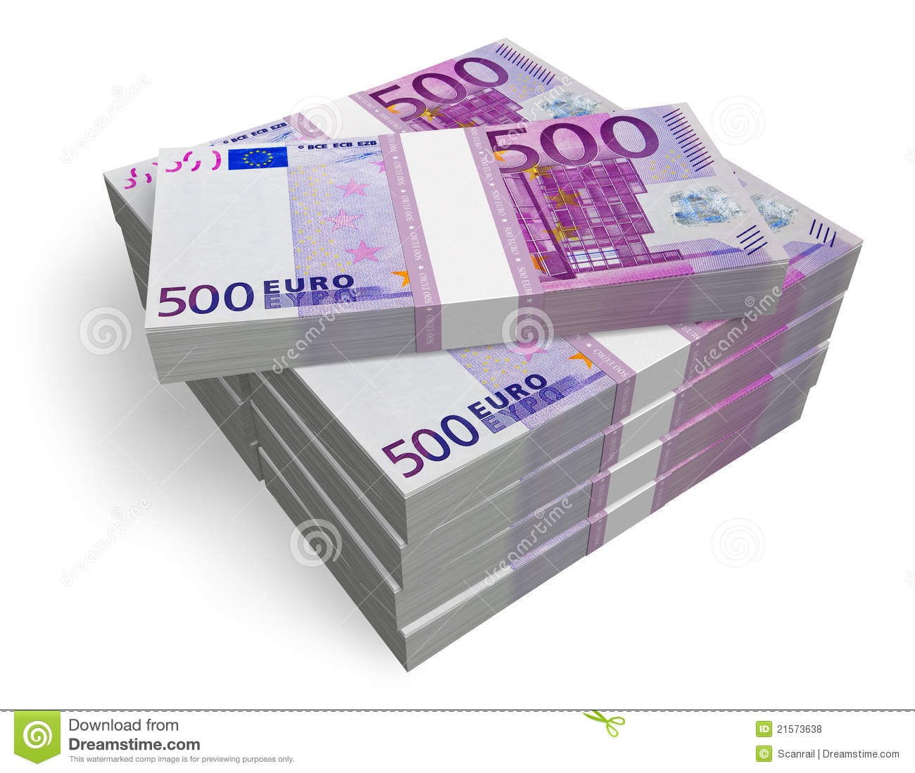 500 Euros Stacks Stock Photos, Images, & Pictures.