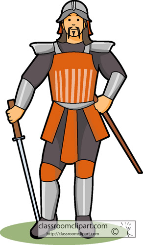 Clipart warrior series.