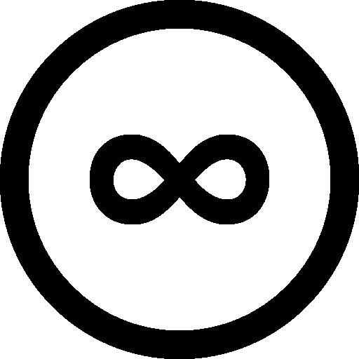 Social 500px circular button.