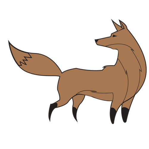 Red fox Clip art Vector graphics Silhouette Royalty.
