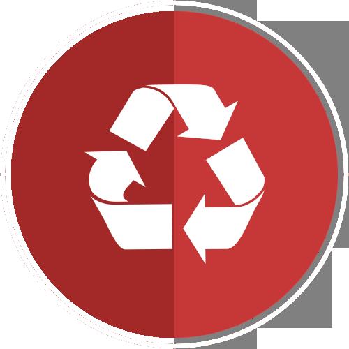 Trash Full Icon.