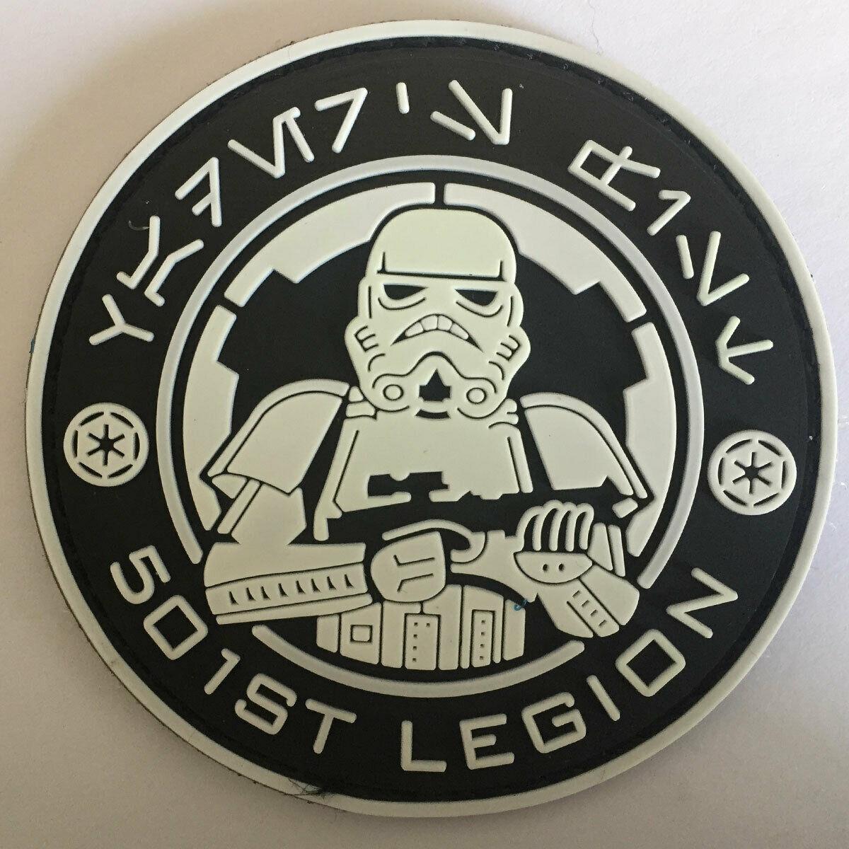 Details about Star Wars Galactic Empire 501st Legion Stormtrooper Tactical  Morale Emblem Patch.