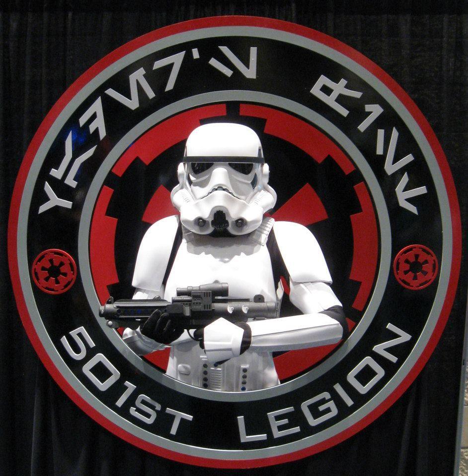501st Legion logo in real life!.