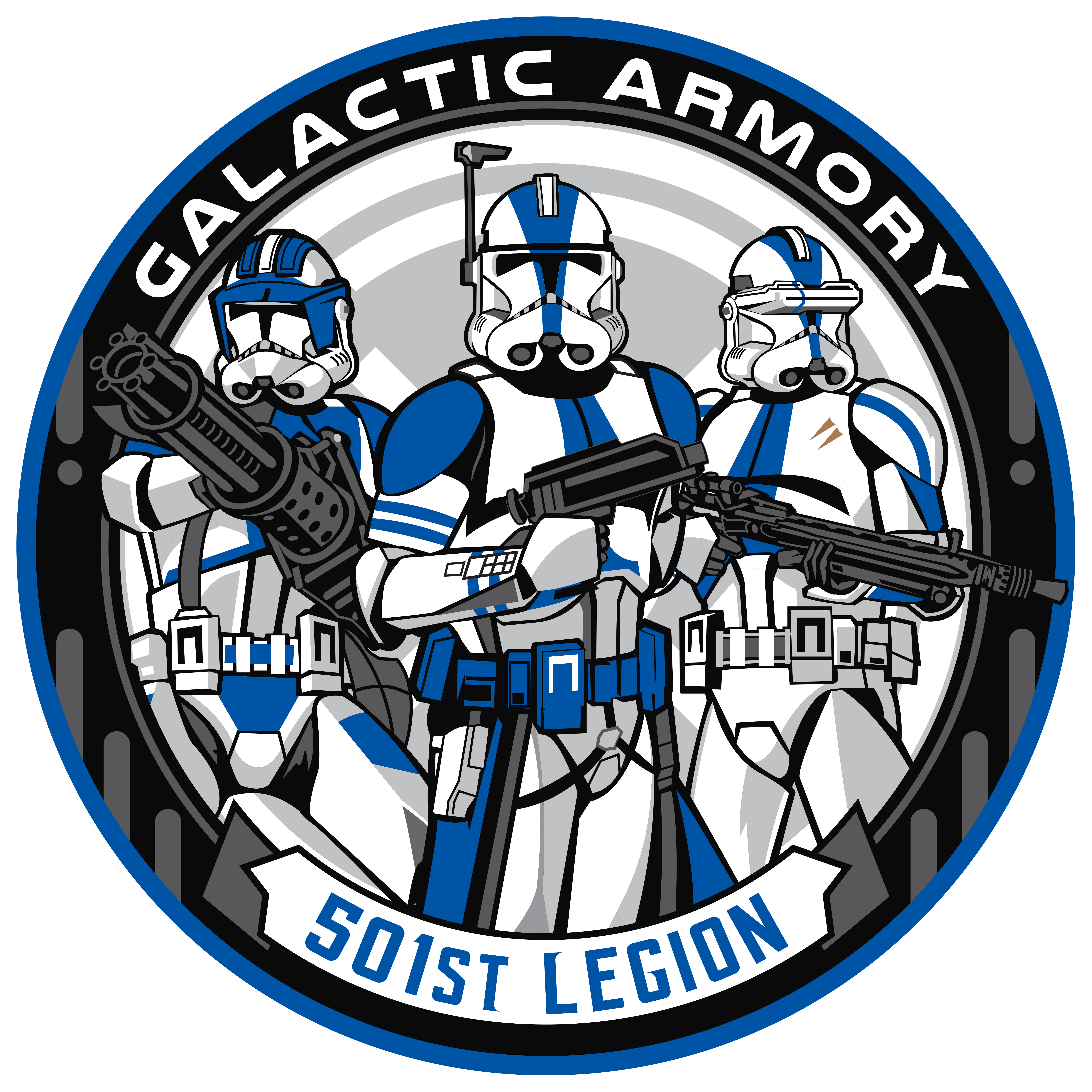 Got another logo designed with some 501st Troopers.